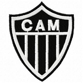Escudo Do Atletico Mineiro Bordado Mercadolivre Com Br