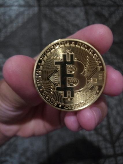 Moeda Física Bitcoin