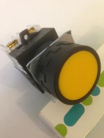 Botão De Comando Amarelo Kpy10 Kacon