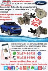 Bombas De Agua Ford Ranger 3.2 Xls Turbo Guatemala