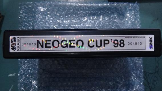 Neogeo Cup 98 Neo Geo Mvs Snk Original Novo Na Caixa
