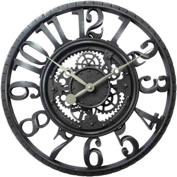 Relógio De Parede Mesa Antigo Placa Kit 10 Peças Promoção