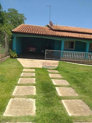 Chácara Com 3 Dormitórios À Venda, 2700 M² Por R$ 700.000 - Goiabal - Pindamonhangaba/sp - Ch0475