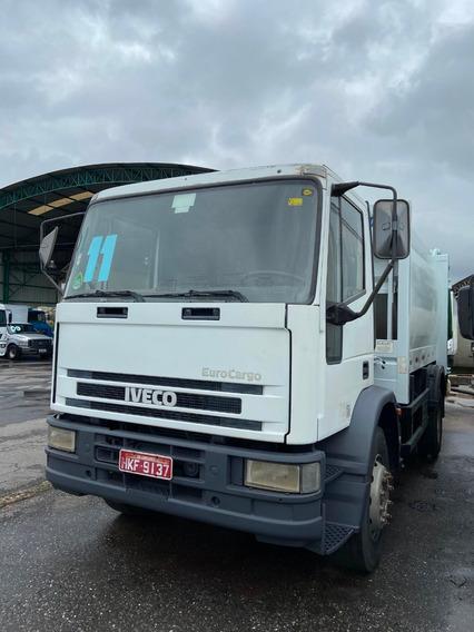 Iveco Euro Cargo 170 E 22 Toco Compactador Lixo Ano 2011