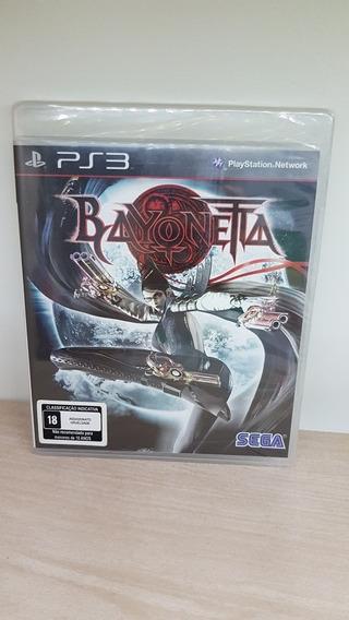 Bayonetta Ps3 Black Label Novo E Lacrado De Fábrica Raro