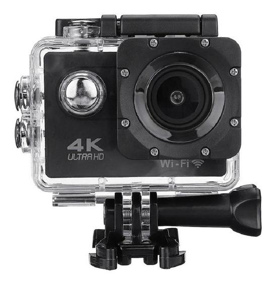 Câmera Go Cam Action Pro Sport 4k Full Hd Prova D