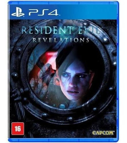 Jogo Resident Evil Revelations Ps4 Mídia Física Em Português