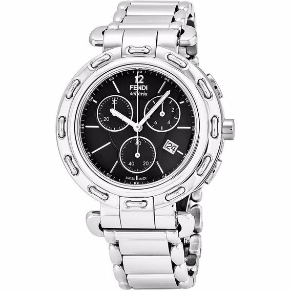 Reloj Fendi Selleria Acero Inox Plata Hombre F89031h-br8653