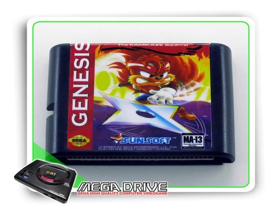 Zero The Kamikaze Squirrel Mega Drive / Genesis - Novo