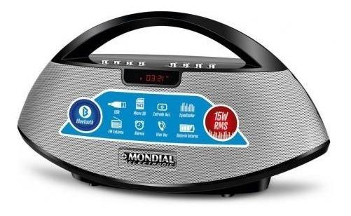 Radio Portátil Sk-01 15w Rms Bluetooth/usb/fm - Mondial