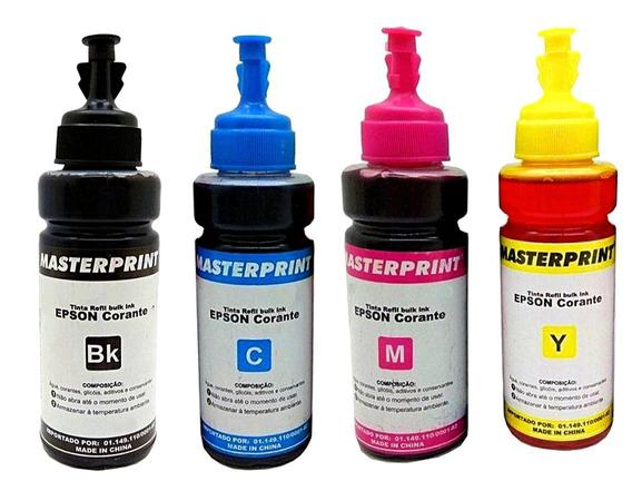 Tinta Epson Masterprint Corante Kit 4 Unidades