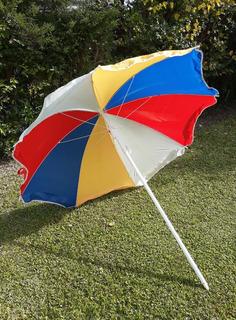 Sombrilla Parasol De Colores Para Playa/ Jardín/ Camping