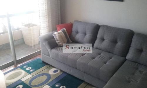 Imagem 1 de 20 de Apartamento Com 2 Dormitórios À Venda, 70 M² Por R$ 310.000,00 - Jardim Do Mar - São Bernardo Do Campo/sp - Ap3769