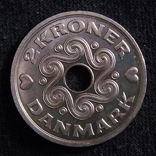 Dinamarca 2 Coronas 1999 Sc Km  874.1
