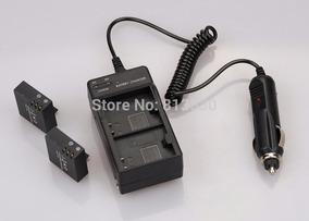 2 Baterias + 1 Carreg P H9r H8r E Sj Frete Grátis