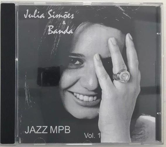 Cd Juliana Simoes E Banda Jazz Mpb Vol 1 - A1
