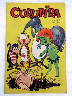 Curupira Nº 1 - José Lanzellotti - Editora Bentivegna - 1967
