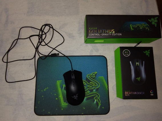 Deathadder Elite Com Goliathus Control Small Gravity Edition