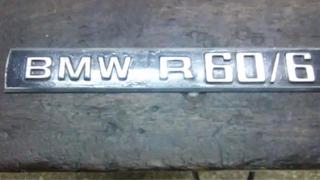 Insignia Bmw R60/6 Metálica