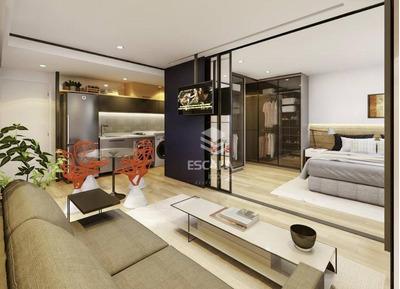Apartamento Com 1 Quarto À Venda, 47 M², 1 Vaga, Internet, Rooftop, Financia - Meireles - Fortaleza/ce - Ap1587