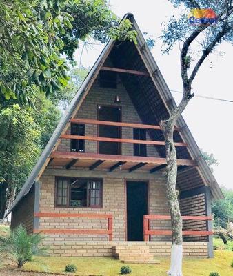 Chácara Com 2 Dormitórios À Venda, 1800 M² Por R$ 240.000 - Taiacupeba - Mogi Das Cruzes/sp - Ch0036