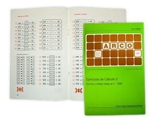 508063 Cuaderno Cálculo 3 Sumas Restas Sistema Arco Eduke