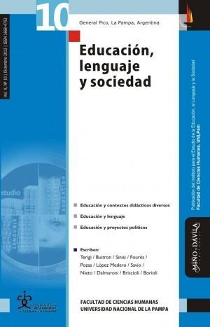 Imagen 1 de 2 de Revista Educación, Lenguaje Y Sociedad. Vol X, Nº 10