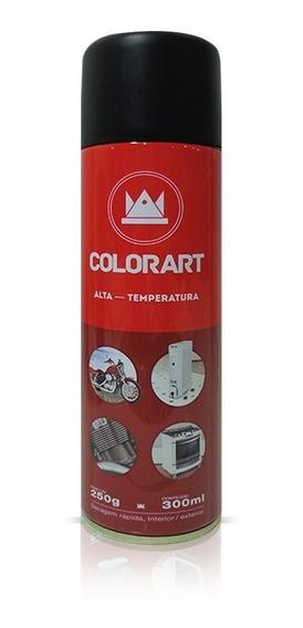 Tinta Spray Alta Temperatura Motor Escapamento 600º Escolher