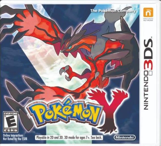 Pokemon Y - Americano - Frete 10 Reais