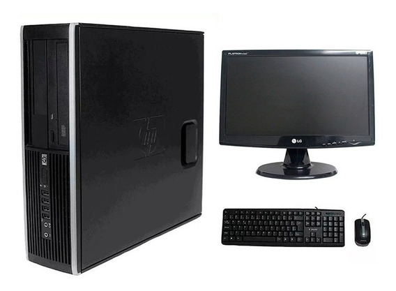Computador Hp Elite 8200 I5 4gb 1tb Hd Monitor 19 Polegadas
