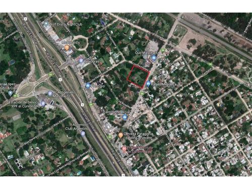 Imagen 1 de 7 de 3.591 M2 Comerciales Sobre Calle Mendoza - Ing. Maschwitz