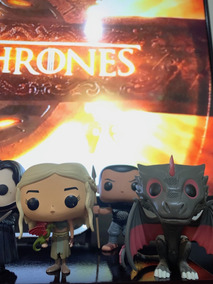 Coleção Funko Pop Game Of Thrones + Trono Ferro Grátis