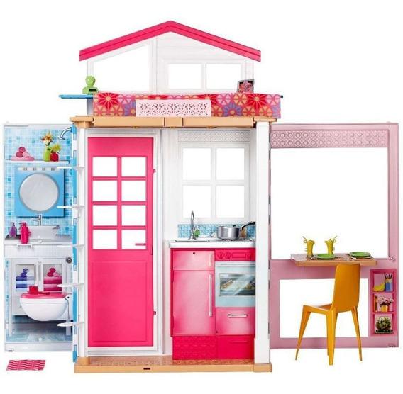 Barbie Casa Glam 2 Andares Com Boneca - Playset