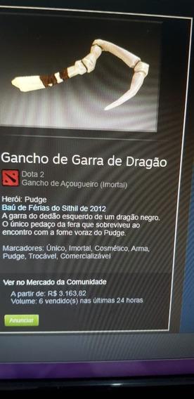 Gancho Garra De Dragão Dota 2 - Dragonclaw Hook Item
