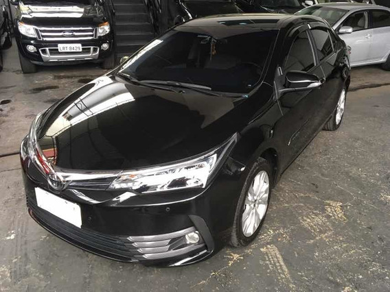Toyota Corolla Xei 2.0 Flex 2018 Preto Na Garantia