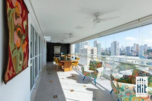 Imagem 1 de 30 de Apartamento À Venda, 193 M² Por R$ 1.950.000,00 - Bosque Da Saúde - São Paulo/sp - Ap3958