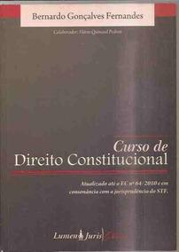 Curso De Direito Constitucional-bernardo Gonçalves Fernandes