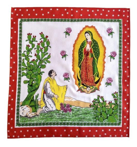 Pañuelo Paliacate Guadalupano Virgen De Guadalupe Lupita