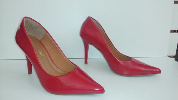 Scarpin Vermelho 8cm