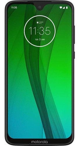 Motorola Moto G7 64gb Usado Seminovo Ônix Muito Bom