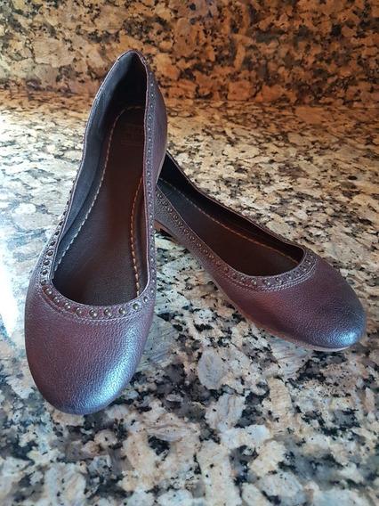 Hermosos Zapatos De Piso Flats Frye 100%originales