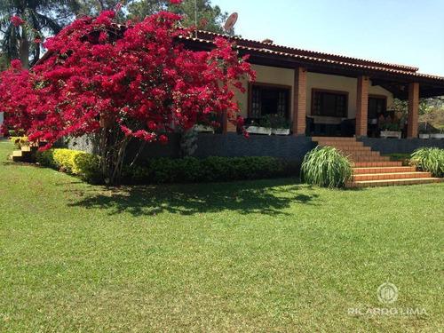 Chácara À Venda, 5000 M² Por R$ 790.000,00 - Camargo I - São Pedro/sp - Ch0096