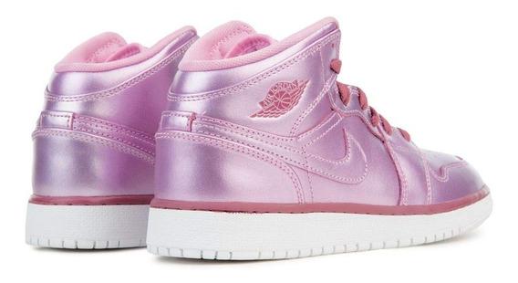 Jordan 1 Mid Se Gs Pink