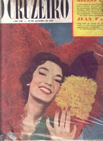 O Cruzeiro 1957.leny.tv Itapoã.violencia No Rio.irma.tupã.mo