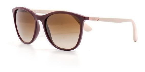Oculos De Sol Feminino Ray Ban Quadrado Lente Acrílico