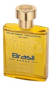 Vodka Brasil Yellow Paris Elysees - Eau De Toilette 100ml
