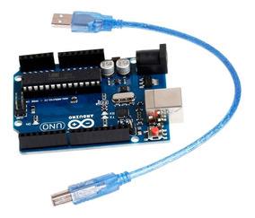 Arduino Uno R3 Atmega328 Atmega 16u2 + Cabo Usb Cod 3