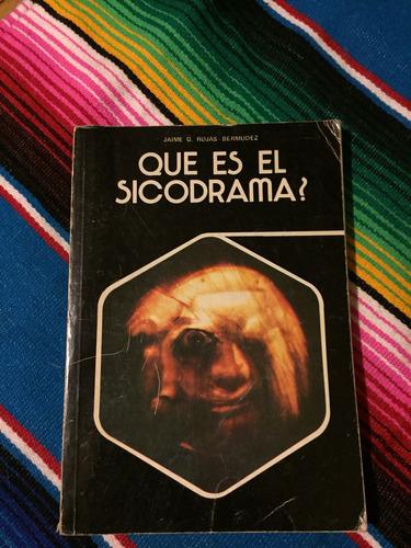 Que Es El Sicodrama?