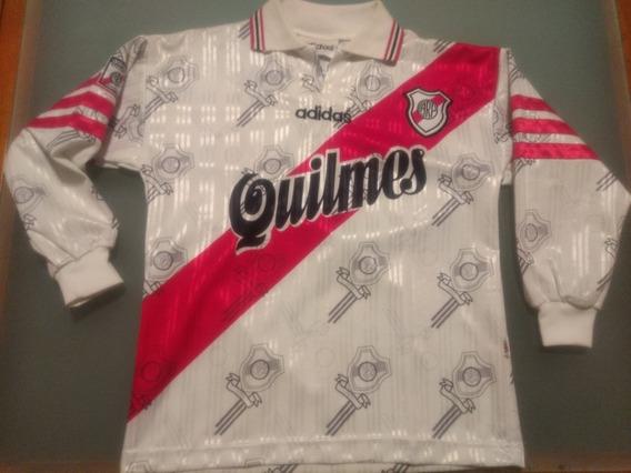 Camiseta River 1996/97 Titular Escuditos