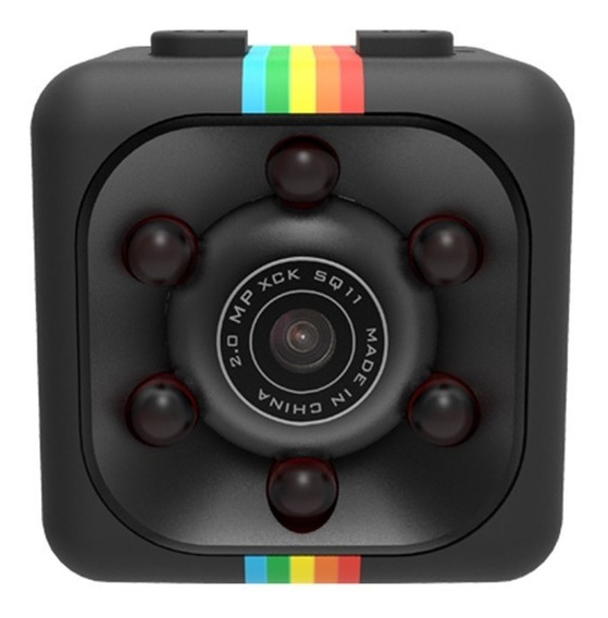 Camera Imars Mini Dv Sq11 Full Hd 1080p Com Visão Noturna